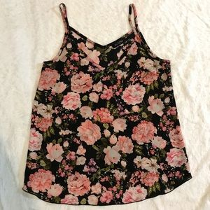 5$ ADD ON Eclipse | Floral Sleeveless Blouse